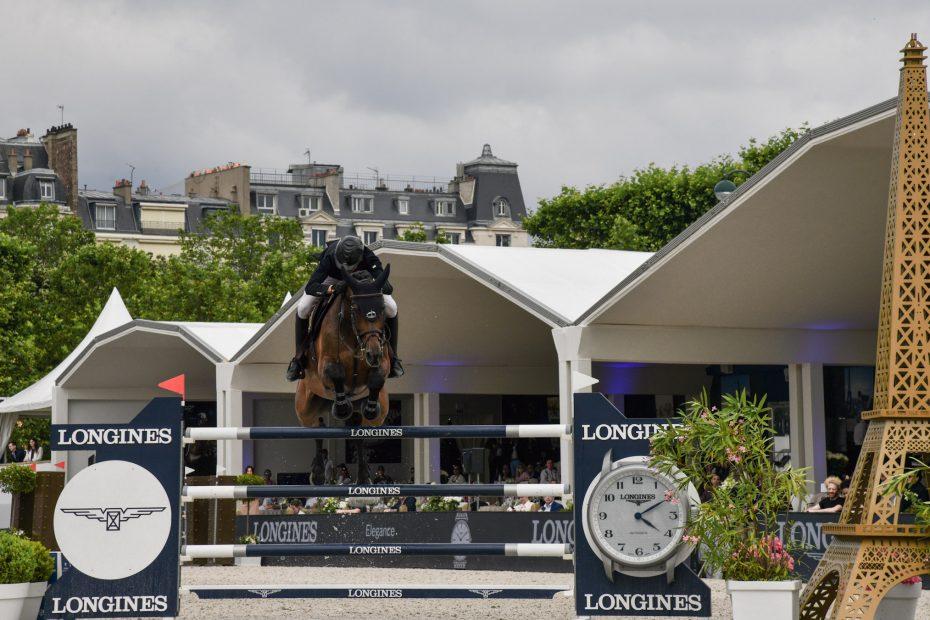 Victoire de Edward Levy au Longines Paris Eiffel Jumping 2021
