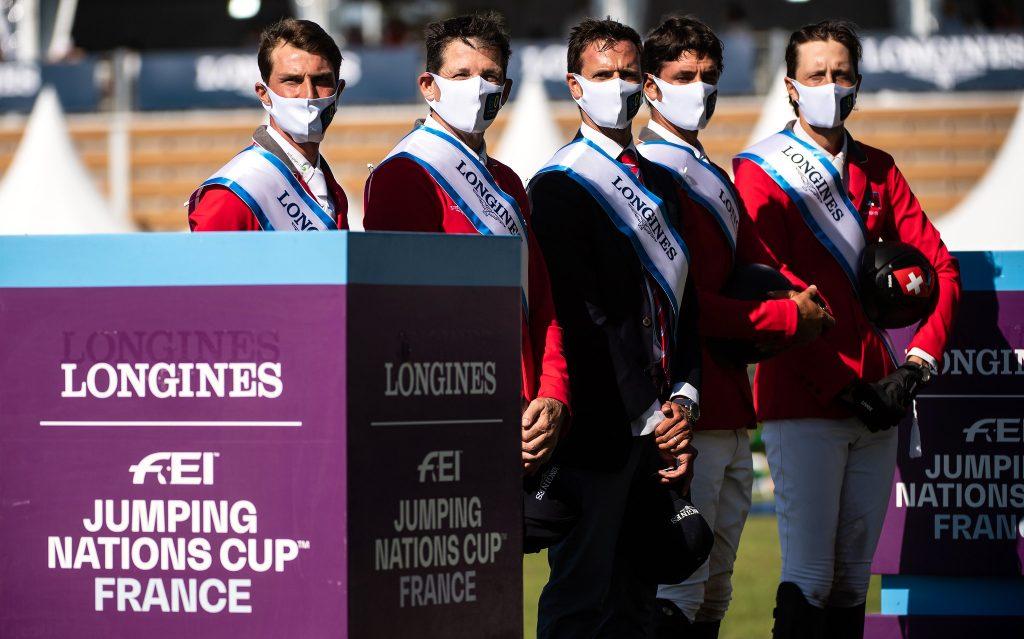 cavaliers sélectionnés équipe suisse jeux olympiques tokyo