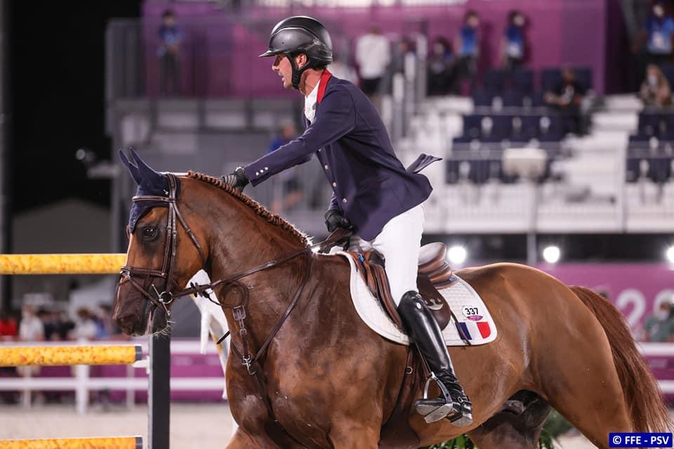 nicolas delmotte épreuve individuelle jeux olympiques tokyo 12ème place urvoso du roch