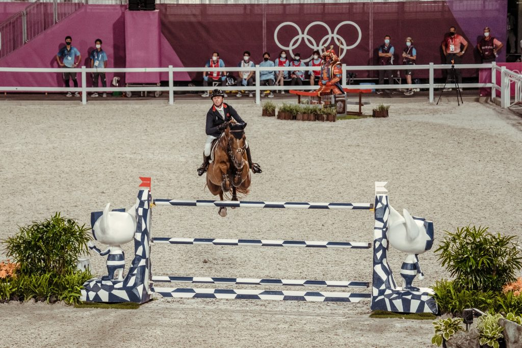 Ben maher champion olympique explosion W